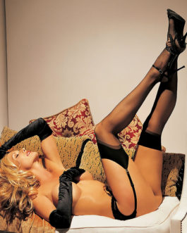 H.O.T. Sheer Thigh Highs- HOT PINK- One Size