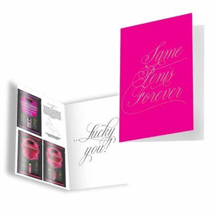 Kama Sutra Naughty Notes Greeting Cards- Same Penis Forever..... KSNN-14001