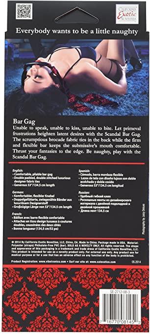 Scandal Bar Gag SE-2712-08-3