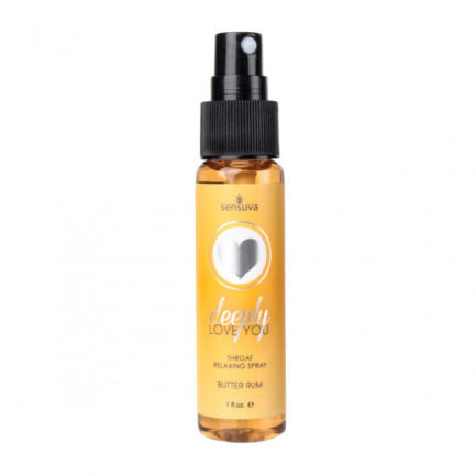 Sensuva Deeply Love You Throat Relaxing Spray- Butter Rum- 1 oz. SEN-VL495