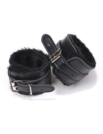 Sex & Mischief Shadow Fur Handcuffs- Perfect For Beginners SS09912