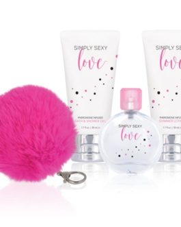 Simply Sexy Love Pheromone Infused Gift Set