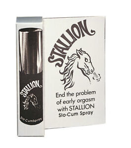 Stallion Slo-Cum Spray  7/16 oz.