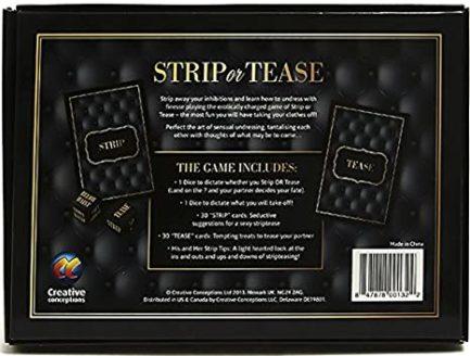 Strip Or Tease Game CC-USSTRIP