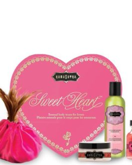 Kama Sutra Sweet Heart Kit- Sensual Body Treats For Lovers