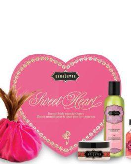Kama Sutra Sweet Heart Kit- Sensual Body Treats For Lovers