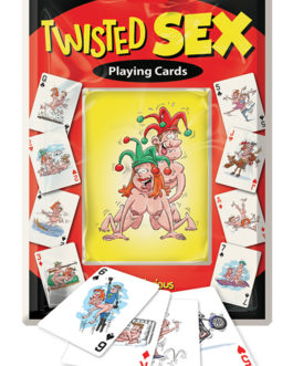 Twisted Sex Playing Cards- Set of 52 Hilarious Sexual Positions