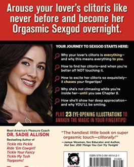 The Mystery Of The Undercover Clitoris By Dr. Sadie Allison