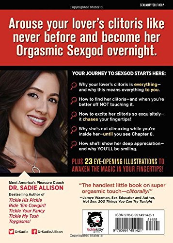 The Mystery Of The Undercover Clitoris By Dr. Sadie Allison 9780991491421