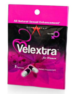 Velextra All Natural Sexual Enhancement for Women- 2 Capsules