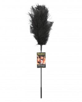Sportsheets Ostrich Feather Tickler- Black