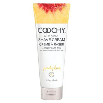 Coochy Oh So Smooth Shave Cream- Peachy Keen- 7.2 oz COO1014-07