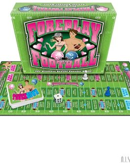 Foreplay Football- The Ultimate Sexual Contact Game