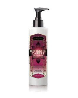 Kama Sutra Intimate Caress Shave Creme- Passionate Pomegranate- 8 oz.
