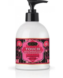 Kama Sutra Touch Sensual Massage Lotion- Strawberry Dreams- 10 oz.