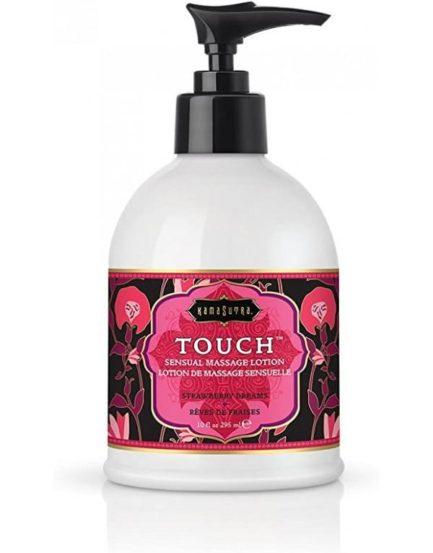 Kama Sutra Touch Sensual Massage Lotion- Strawberry Dreams- 10 oz.