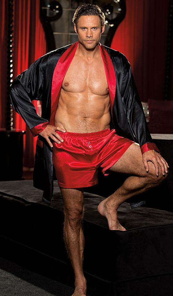Men's Robes & Boxers Now In