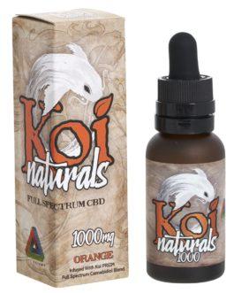 Koi Broad Spectrum CBD Hemp Supplement-1000 mg-Orange
