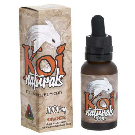 Koi Broad Spectrum CBD Hemp Supplement-1000 mg-Orange KOI-1000-ORANGE