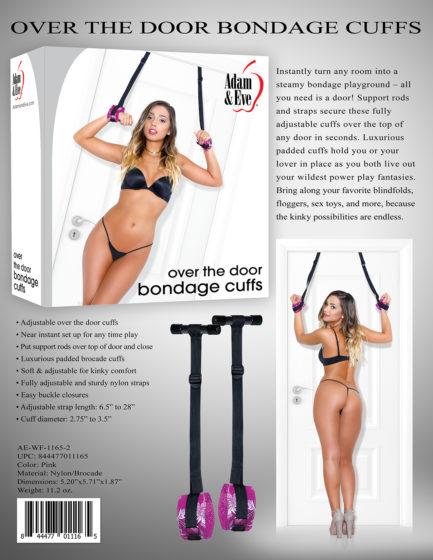 Adam & Eve Over The Door Bondage Cuffs AE-WF-1165-2