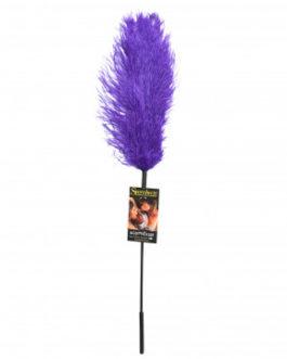 Sportsheets Ostrich Feather Tickler- Purple