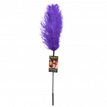 Sportsheets Ostrich Feather Tickler- Purple SS700-02