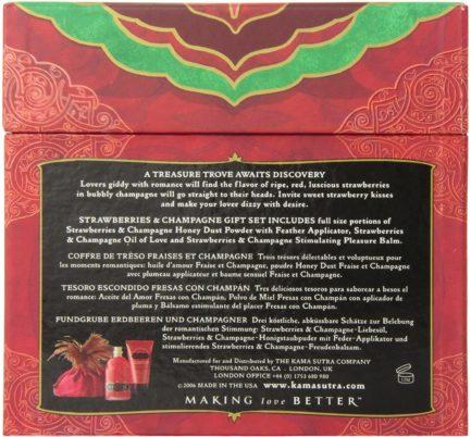 Kama Sutra Treasure Trove Gift Set For Lovers