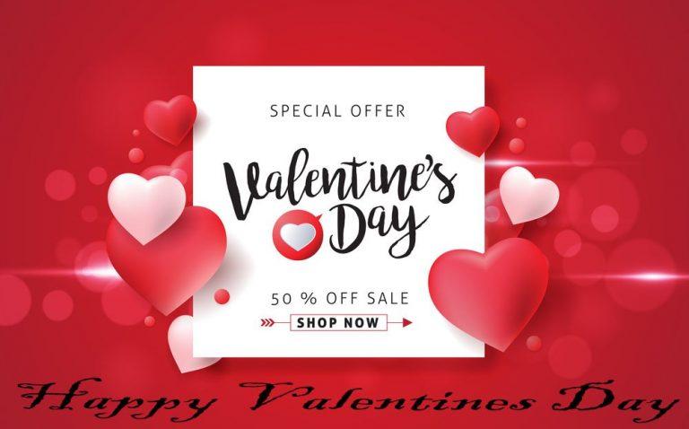Save 50% through Valentine's Day